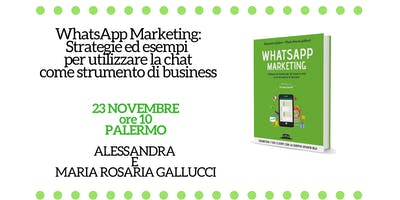 WhatsApp Marketing - Workshop a Palermo