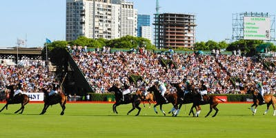 POLO, FOOD AND FRIENDS - The Palermo Polo Open from my exclusive balcony.