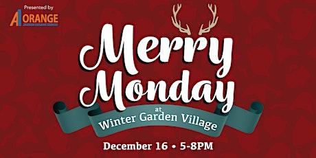 Merry Monday - Santa and Reindeer at Winter Garden Village tickets