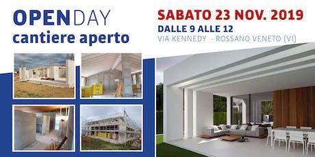 Open Day - Cantiere Aperto in villa ad alta efficienza energetica biglietti