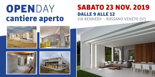 Open Day - Cantiere Aperto in villa ad alta efficienza energetica