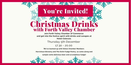 Christmas Drinks with Forth Valley Chamber