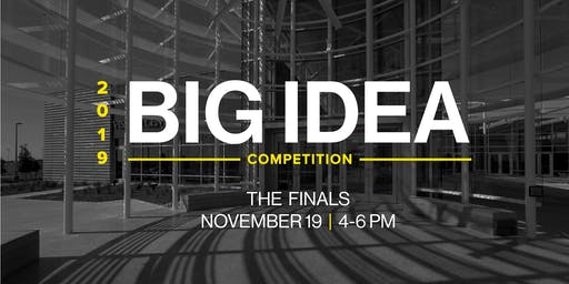 UT Dallas Big Idea Competition Finals