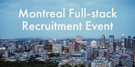 HiredEvents - Montreal Full-stack Developer Recruitment (Dec 10) tickets