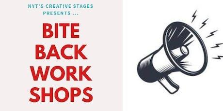 Biting Back Scheme : Poetry Workshop tickets