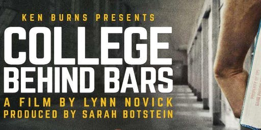 WTVP College Behind Bars Screening and Panel Discussion - FREE!