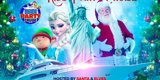 Christmas Kids Party Cruise Hosted By Santa & Elves