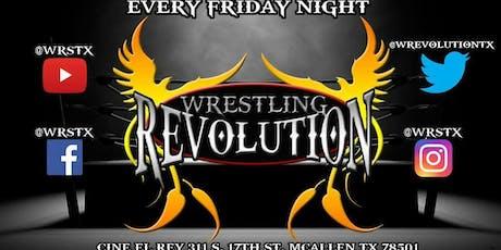 Wrestling Revolution True Survivor (Live pro Wrestling) boletos
