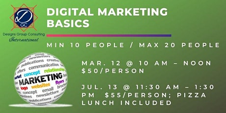 Digital Marketing Basics - Canceled tickets