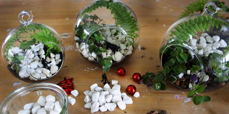 Make a Miniature Terrarium with plants, ferns and mini objects tickets