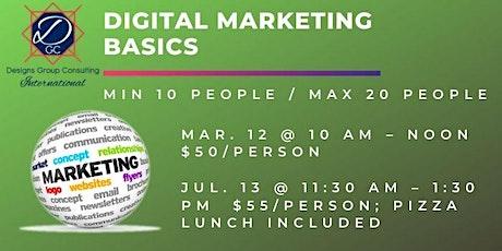 Digital Marketing Basics Class 2 tickets