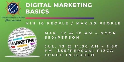 Digital Marketing Basics Class 2