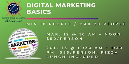 Digital Marketing Basics Class 2