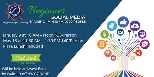 1.Beginner Social Media Training – Min 10 / Max 20 People