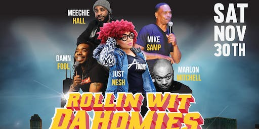 Hustle Jokes Presents: Comedy Night @ DuSable Museum hosted by Just Nesh