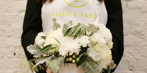 Holiday Blooms at J Roo's with Alice's Table