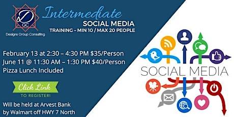 Intermediate Social Media Training tickets