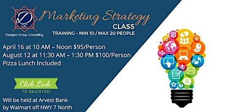 Marketing Strategy Class tickets