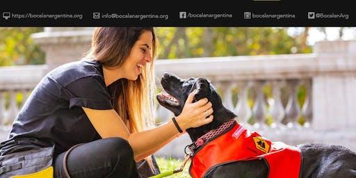 Charla sobre Terapias Asistidas con Perros, orientadas a niños con CEA.