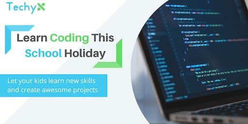 School Holiday Coding Class Cyberjaya