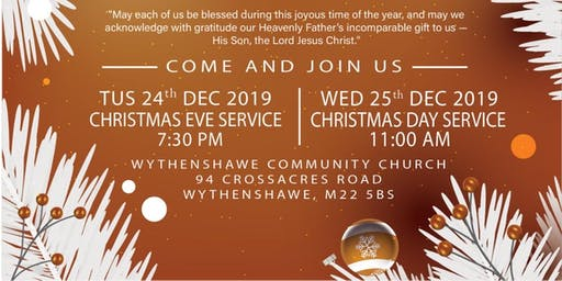 WCC Christmas Day Service