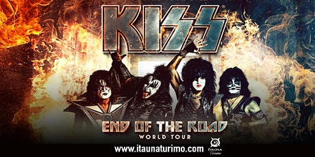Show do Kiss - Turnê The End Of The Road - Excursão saindo de todo o Brasil tickets