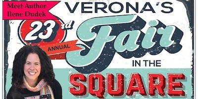 Meet Author Ilene Dudek at Verona's Fair in the Square
