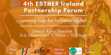 4th ESTHER Ireland Partnership Forum tickets