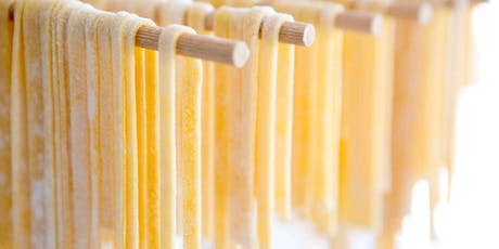 Handmade Fettuccine Pasta - Cooking Class by Golden Apron™ tickets