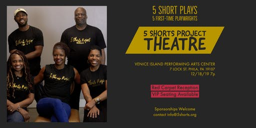 Our Stories! 5 Shorts Project Theatre Edition