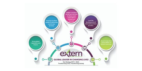 Extern Strategy Launch Transforming Lives, Transforming Society 2019 – 2022 tickets