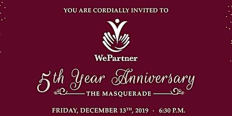 WePartner's 5th Anniversary Gala tickets