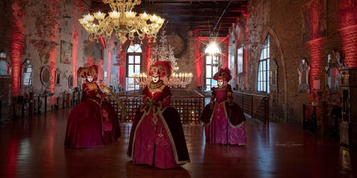 The Santa Chiara Glass Slippers Masquerade Ball