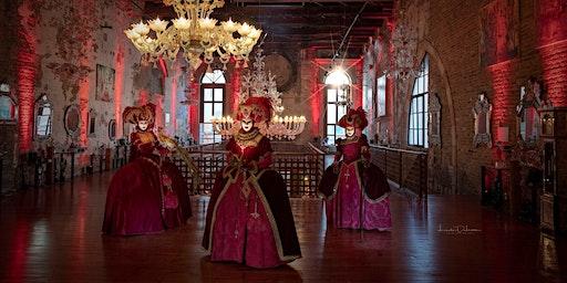 The Santa Chiara Glass Slippers Masquerade Ball