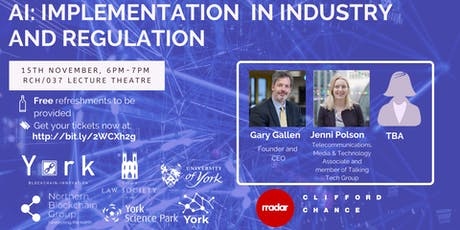[ON  HOLD] AI: Industry Implementation and Regulation Event tickets
