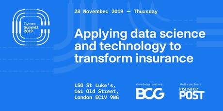 Cytora Summit : Applying data science and technology to transform insurance tickets