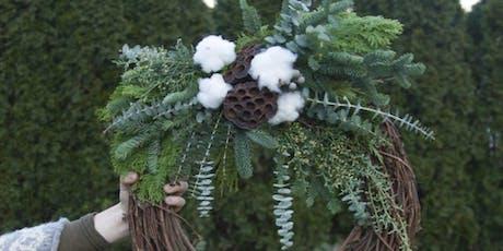 Winter Wreath at Bonacquisti Wine Company with Alice's Table tickets