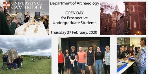 Department of Archaeology Open Day for Prospective Undergraduates