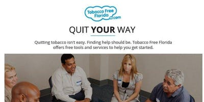 Quit Tobacco Your Way: Florida Department of Health in Duval - Downtown