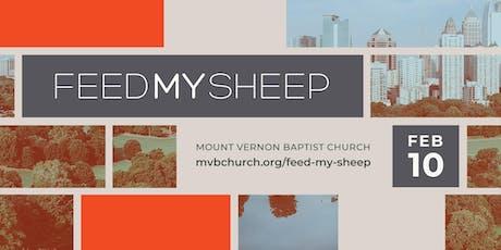 Feed My Sheep 2020 tickets