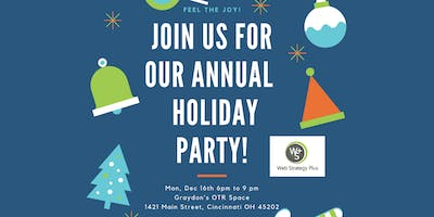 Social Media Enthusiasts Holiday Party & Networking Event Free Food & Fun!