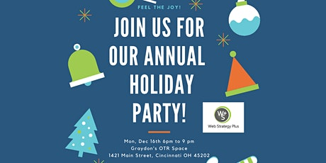Social Media Enthusiasts Holiday Party & Networking Event Free Food & Fun! tickets