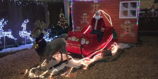 The Scottish Deer Centre, Santa's Grotto Experience  23rd 24th 30th Nov 1st 7th 8th Dec