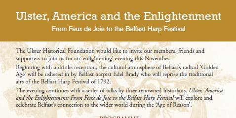 Ulster, America and the Enlightenment