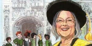 Lady Hale book reading