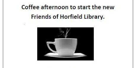 Coffee afternoon to start the Friends of Horfield Library tickets