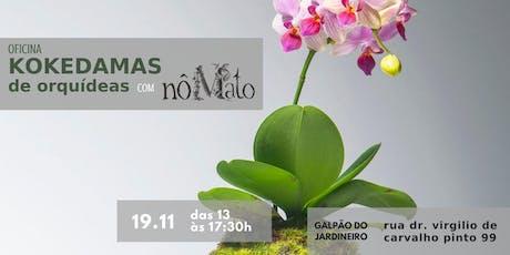 OFICINA DE KOKEDAMA DE ORQUÍDEA tickets