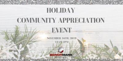 Holiday Community Appreciation Event