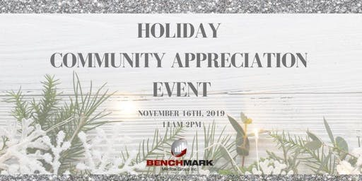 Holiday Community Appreciation Event