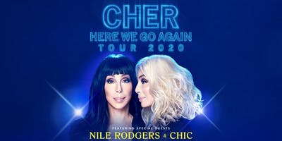 Cher HERE WE GO AGAIN TOUR